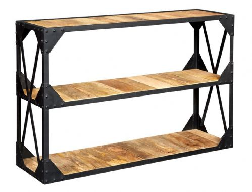 Aintree Industrial Console Table